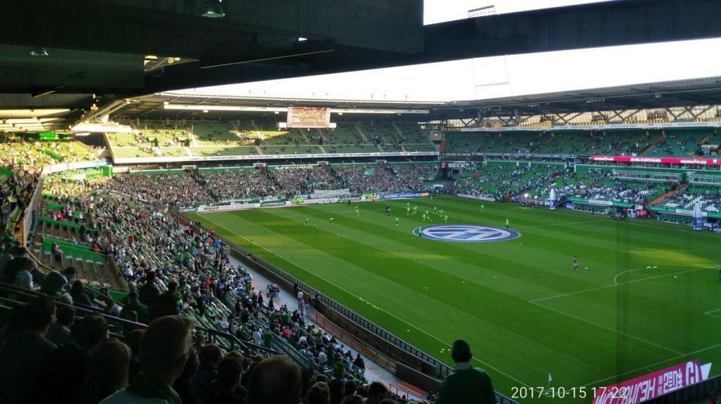 Spiel am 15.10.2017 in Bremen