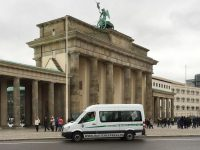 Der Rautenexpress am Brandenburger Tor