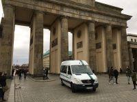 Der Rautenexpress am Brandenburger Tor