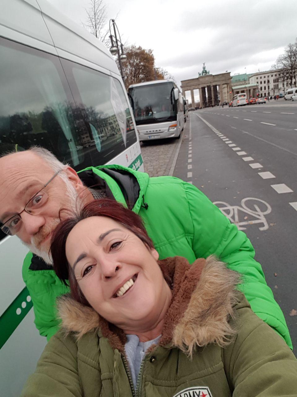 Vorm Brandenburger Tor Berlin