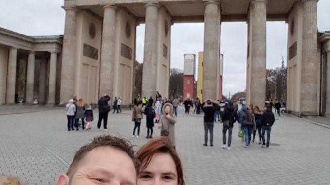 Am Brandenburger Tor Berlin