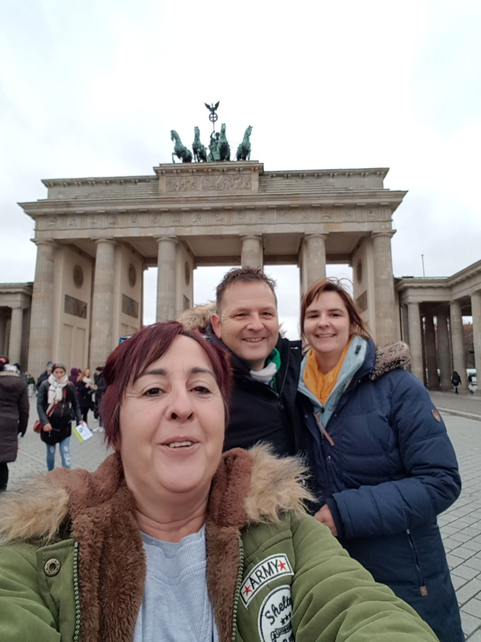 Am Brandenburger Tor Berlin