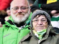 Miss Elli und Andreas im Stadion