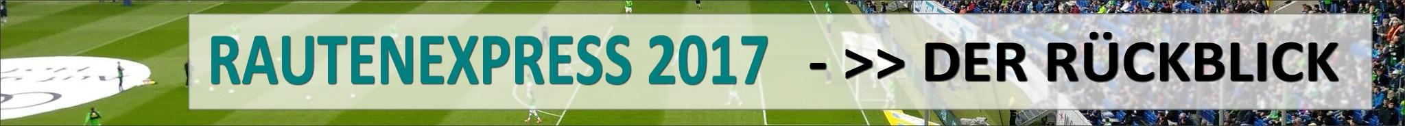 Rautenexpress Jahresrückblick 2017