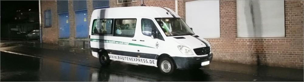 Rautenexpress Vorbereitungen Frankfurt Tour
