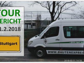 Rautenexpress Tour nach Stuttgart, am 11.2.2018