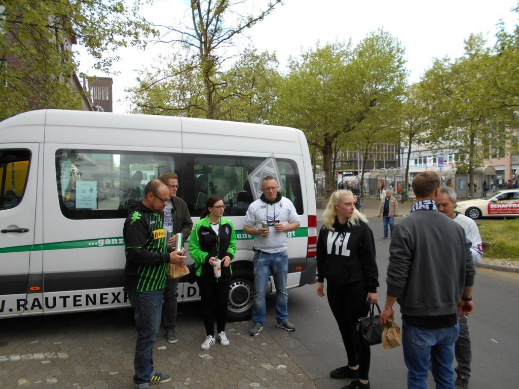 Tour-Bericht zur SCHALKE FAHRT am 28.04.2018 – Rautenexpress