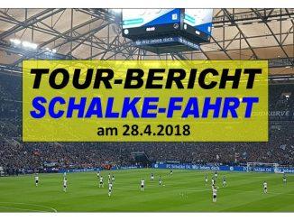 Schalke-Tour am 28.4.2018