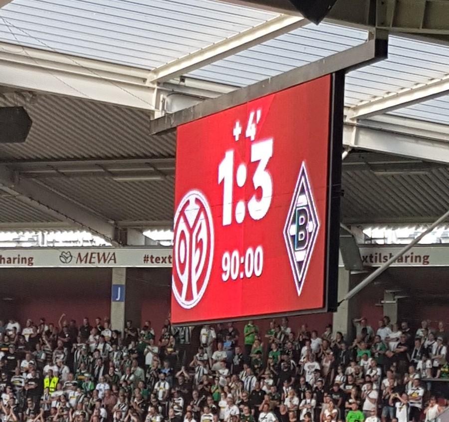 Sieg gegen Mainz