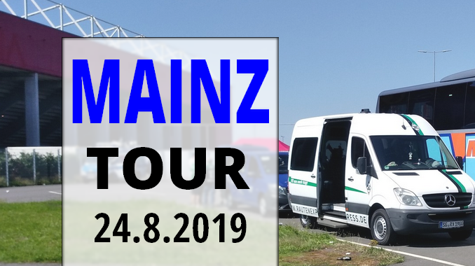 MAINZ TOUR AM 24.8.2019
