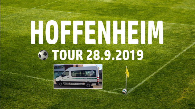 Hoffenheim Tour 28.9.2019